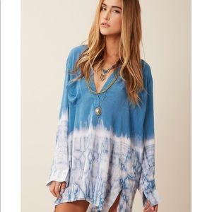 Blue Life (Blu moon) shirt dress